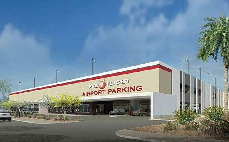 Pre Flight Phoenix Airport Parking