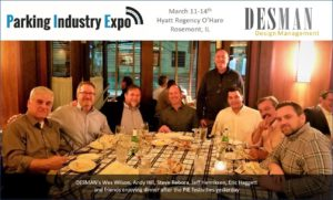 Desman at Parking Industry Expo