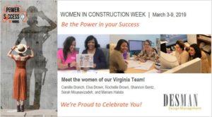 Women in Construction Virginia Team