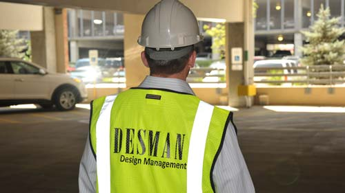 Desman Design Management - Parking Garage Project Management Team