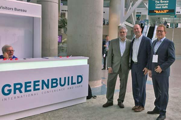 Steve Rebora & DESMAN at Greenbuild International Conference