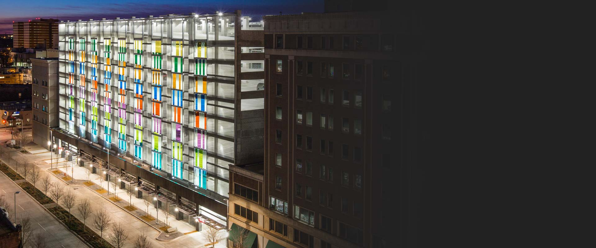 Downtown Oklahoma City Parking Garage Design