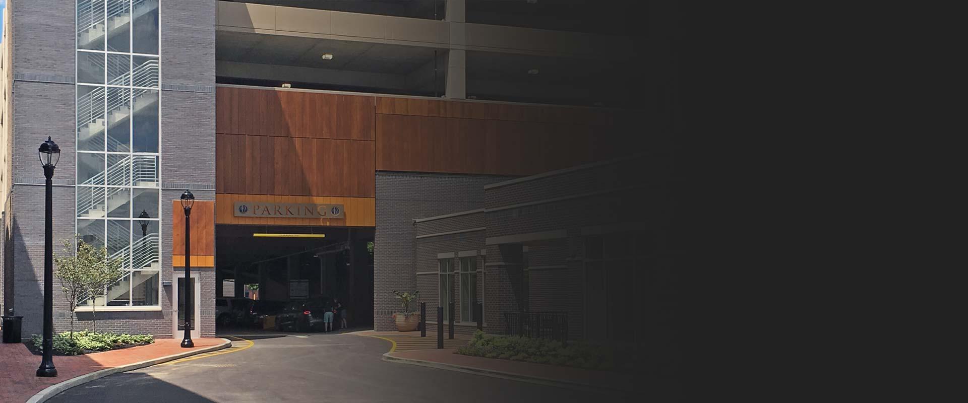 Hyatt Legacy Building Parking Garage Cleveland