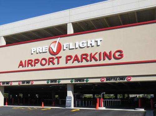 O'Hare Preflight Parking Garage