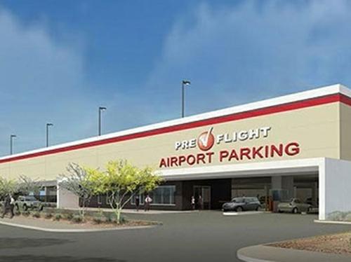 Prefligh Airport Parking Garage - Phoenix Airport