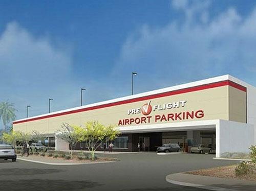 Phoenix Preflight Parking Garage