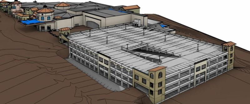 Soboba Casino Parking Garage