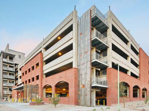 Higher Education - University of Arizona Parking Structures