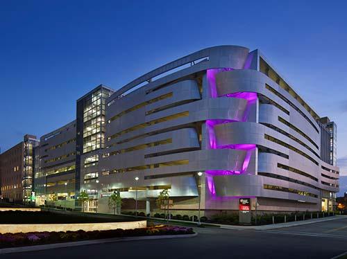 University Hospitals Cleveland Parking Garage
